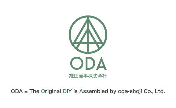ODA=The 0riginal DIY is Assembled by oda-shoji.co